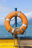 Boya de vida del transbordador Foto de archivo libre de regalías