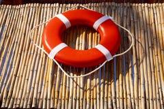 Boya del salvavidas Fotografía de archivo