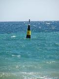 Boya en el mar crimea Imagen de archivo libre de regalías