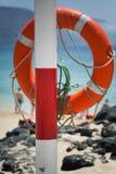 Boya en la playa Imágenes de archivo libres de regalías