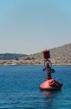Boya roja Imagen de archivo libre de regalías