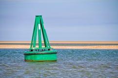 Boya verde Imagen de archivo libre de regalías
