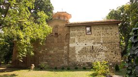 Boyana church in Sofia, Bulgaria. World Heritage medieval Bulgarian Orthodox church situated on the outskirts of Sofia stock photography
