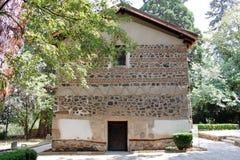 Boyana-Kirchen-Eingang lizenzfreie stockbilder