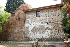Boyana kyrka i Sofia arkivfoto
