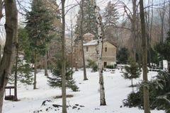 Boyana kyrka i Sofia royaltyfri foto
