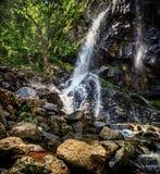 Boyana vattenfall, Sofia, Bulgarien royaltyfria bilder