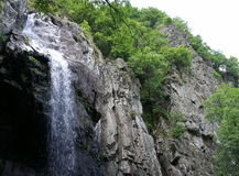 Boyana waterfall Stock Image