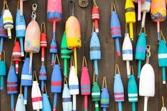 Boyas coloridas Imagen de archivo