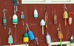 Boyas coloridas foto de archivo libre de regalías