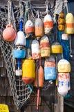 Boyas de la langosta Imagen de archivo