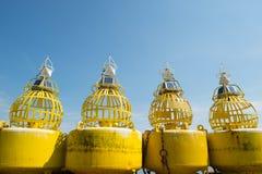 Boyas para el mar foto de archivo libre de regalías