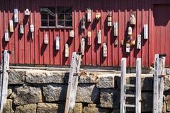 Boyas y escaleras Imágenes de archivo libres de regalías