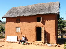 Boyau des montagnes typique malgache Photos libres de droits