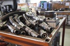 Boyaux hydrauliques Photo libre de droits