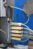Boyaux hydrauliques Photos libres de droits