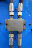 Boyaux hydrauliques Photo stock