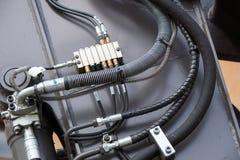 Boyaux hydrauliques Photo stock