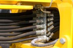 Boyaux hydrauliques Images stock