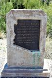 Boyce Thompson Arboretum State Park, superior, Arizona Estados Unidos fotografía de archivo