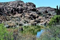 Boyce Thompson Arboretum State Park, superiore, Arizona Stati Uniti Immagini Stock Libere da Diritti