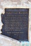 Boyce Thompson Arboretum State Park, superiore, Arizona Stati Uniti Fotografia Stock