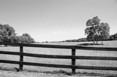 Boyce, Virginia - Black and White Stock Image