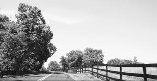 Boyce, Virginia - blanco y negro imagen de archivo