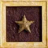 bożych narodzeń dekoraci rama Zdjęcia Royalty Free