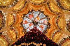 bożych narodzeń galeries Lafayette drzewo Fotografia Stock