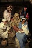 bożych narodzeń narodzenia jezusa scena Obraz Stock
