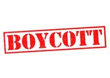boycott illustration stock