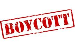 boycott illustration de vecteur