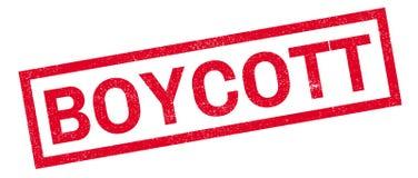 Boycott rubber stamp Royalty Free Stock Photos