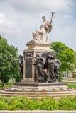 Boyd capital allison de William de statue de Des Moines Image stock