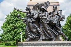 Boyd capital allison de William de statue de Des Moines Photos stock