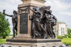 Boyd capital allison de William de statue de Des Moines Photographie stock
