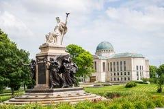 Boyd capitale allison di William della statua di Des Moines fotografia stock