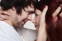 Boyfriend and girlfriend Stock Photography