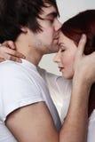 Boyfriend and girlfriend Royalty Free Stock Photo