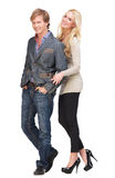 Boyfriend and Girlfriend Together Royalty Free Stock Photos