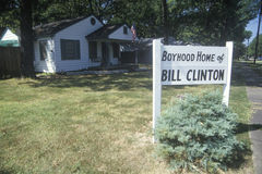 Boyhood home of Bill Clinton in Hope, Arkansas Royalty Free Stock Image
