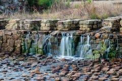 Boykin fjädrar vattenfall arkivbilder