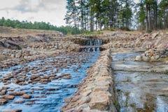 Boykin fjädrar vattenfall royaltyfri foto
