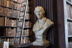 Boyle bust in Trinity College Royalty Free Stock Photography