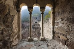 Historic castle in Northern Italy near the town of Bozen. Boymont castle in South Tyrol near Bozen, Italy royalty free stock photo