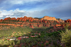 Boynton Canyon in HDR Royalty Free Stock Image