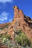 Boynton Canyon Vista. A scenic view of boynton canyon vista near sedona arizona Stock Images