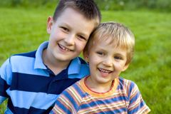 Boys Stock Photo