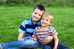 Boys Stock Photography